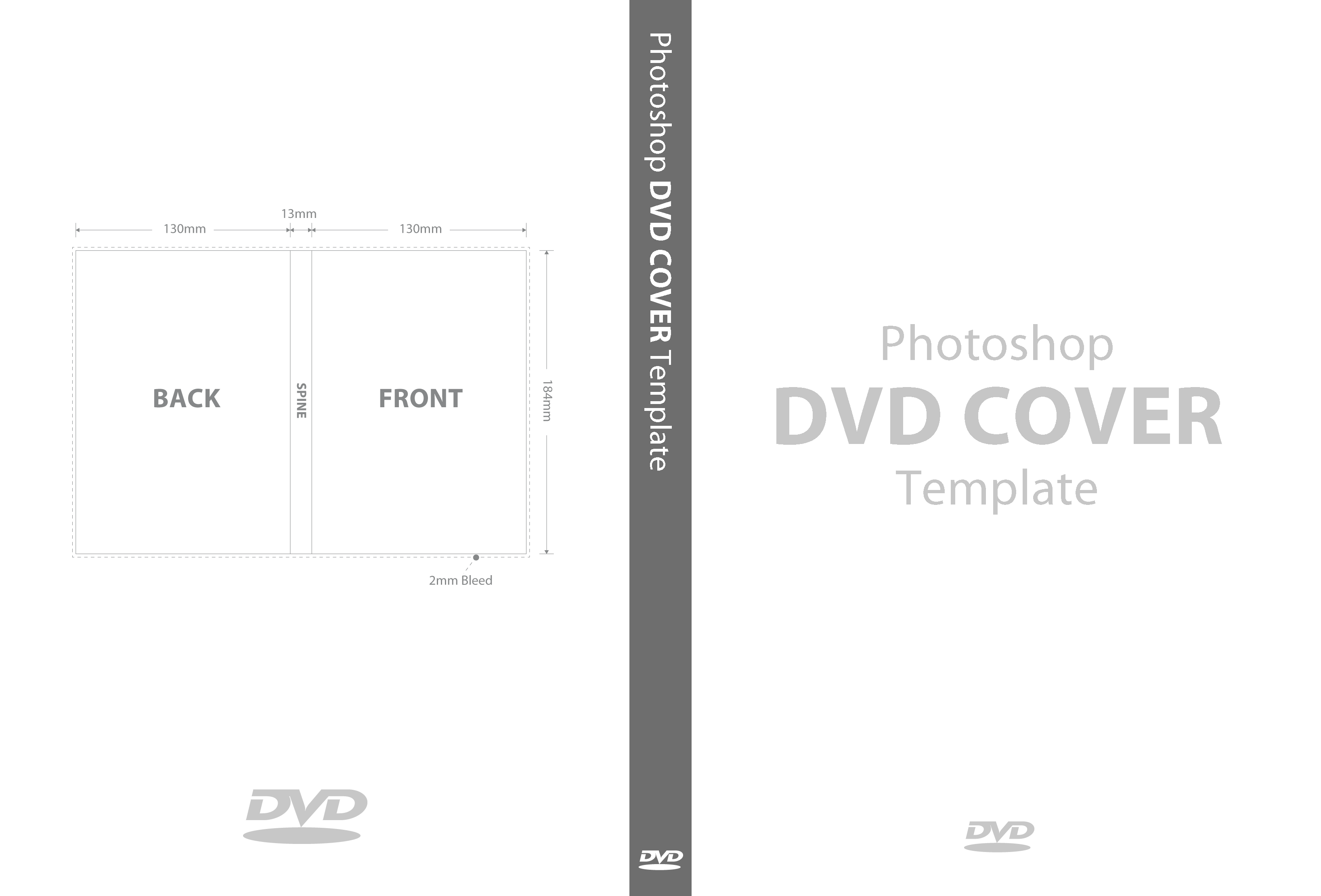 Template manxspud for Dvd cover template mac